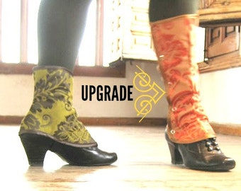 Upgrade to tall spats