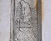 Vintage tile mold similar to claycraft or batchelder. Reserved Deb V
