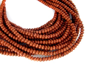 Goldstone Beads-- Brown Goldstone Smooth Rondelle 12mm Beads-- 1 STRAND (LC-21)