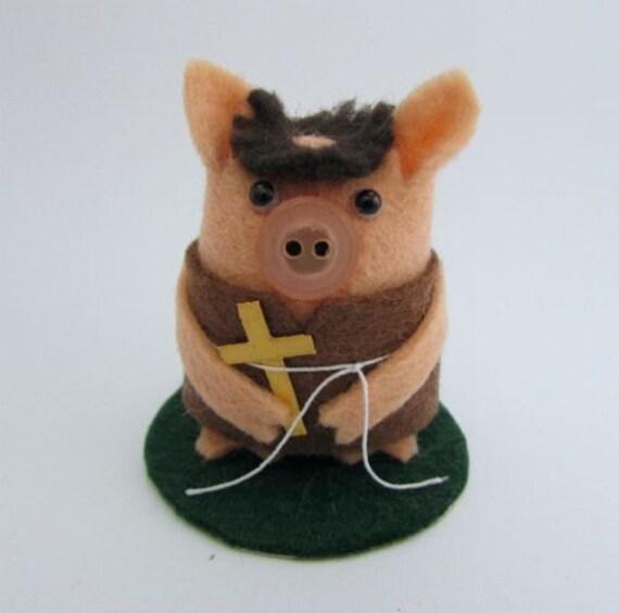 Friar Tuck Pig