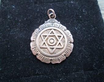 Star of David Antique Pendant