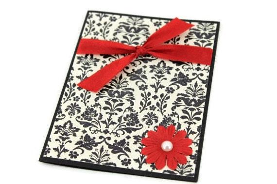 Sympathy Card- Elegant Flowers