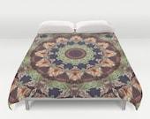 Duvet Cover, Mill 2,Mandala duvet,Chakra duvet, Designer Duvet, Art Duvet, King Duvet, Queen Duvet, Colorful duvet, Bedroom decor