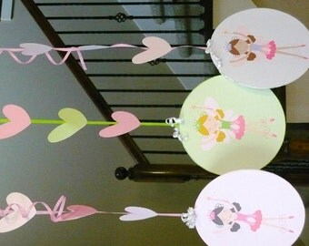 Fairy Garden hanging decorations, fairy garden, fairy decorations, fairy birthday decorations, fairy hanging decor, INSTANT DOWNLOAD