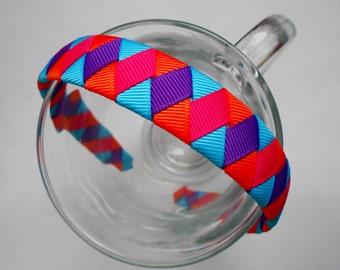 Colorful Woven Headband