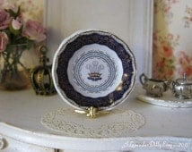 Charles and Diana Cathedral Wedding Plate for Dollhouse