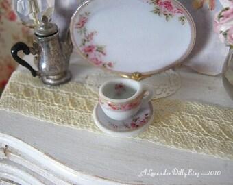 Hertford Dollhouse Tea Cup/Saucer