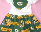 Packers Onesie Dress