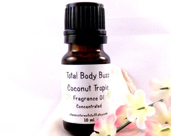 Fragrance Oil - Coconut Tropic Oil - Bath Body - Soapmaking Supply - Fragrance Oil - Lotion Candle Potpourri Incense Scent Craft Supply