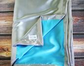 Satin blanket, charmeuse satin, double-sided satin blanket, satin, silky blanket, silk blanket, soft blanket