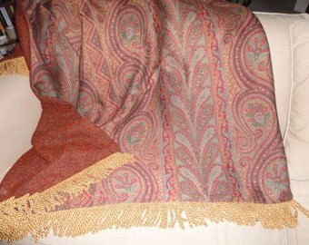One Of A Kind Designer Reversible Throw Blankets By Alexsattic