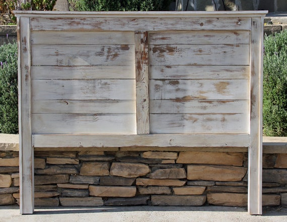 Twin Rustic Headboard Farmhouse Painted And By Foofoolalachild