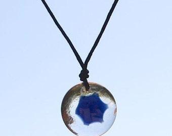 Third Eye Chakra Orb Necklace, Yoga Jewelry