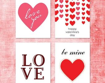 Diy valentine card  Etsy