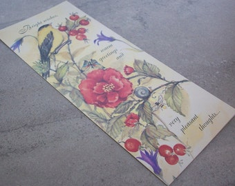 Vintage Any Occasion Greeting Card  By Olympia  Made in USA