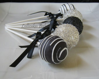 Wedding Favors: Cake Pops Wedding Favors Made to Order with High Quality Ingredients, 1 Dozen Cake Pops