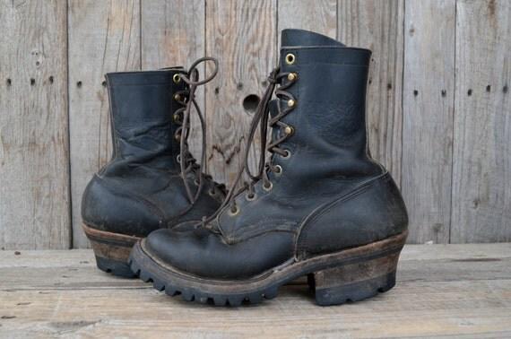 vintage alaska whites spokane smokejumper work boots
