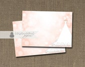 Blush Pink & Gold Glitter Labels Weddign Gown Bokeh INSTANT DOWNLOAD Buffet Modern Food Cards Printable Sticker Table Favor Tag DIY- Carly