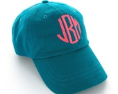 Monogrammed Baseball Cap - Personalized Hat - Classic Baseball Cap - Preppy Gift - Great Gift