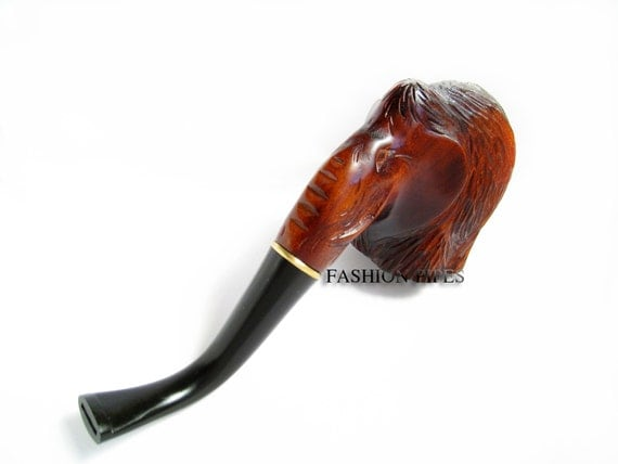 """Exclusive Pipe, Author Tobacco Pipe, Smoking Pipe/Pipes Collection Tobacco Wooden Pipe. Handcrafted """"MAMMOTH"""" Limited Edition"""