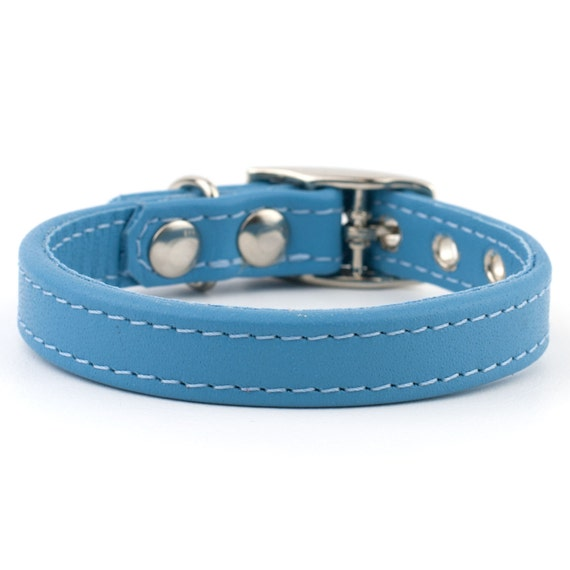 Solid Light Blue Dog Collar by Yellow Dog Design, Inc - Order Today at flip13bubble.tk SIZING. This dog collar utilizes a quick clasp closure, also called a side release clasp. Sizing is given as a range of neck lengths. Measure your dogs neck size or its current collar .