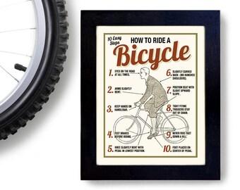 Bicycle Art, Bike Club, Cyclist Art, Cycling Fan, Ride a Bike, Bicycle Enthusiast, Bar Art, Bike Rider