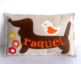 Customized Pillow - Dachshund