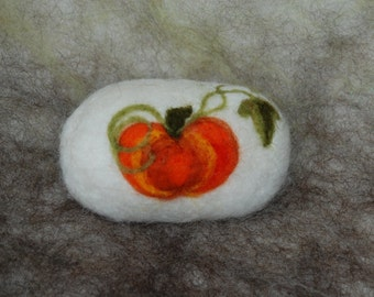 Felted Soap Pumpkins Handmade