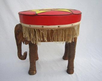 Boho Elephant Stool