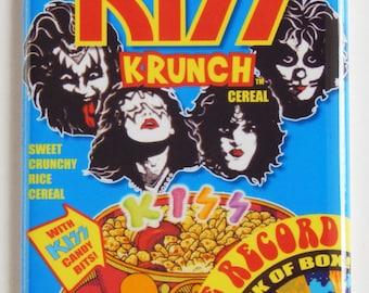 Kiss Krunch Cereal Box Fridge Magnet