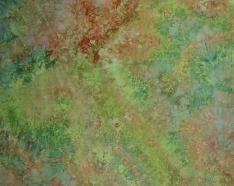 Hand Dyed  Fabric, Ice Dyed Quilt Cotton, Nostalgia, 2 1/2 Yards (LS) #56
