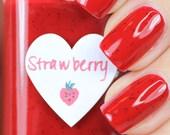 Strawberry Nail Polish 15ml (.5oz)