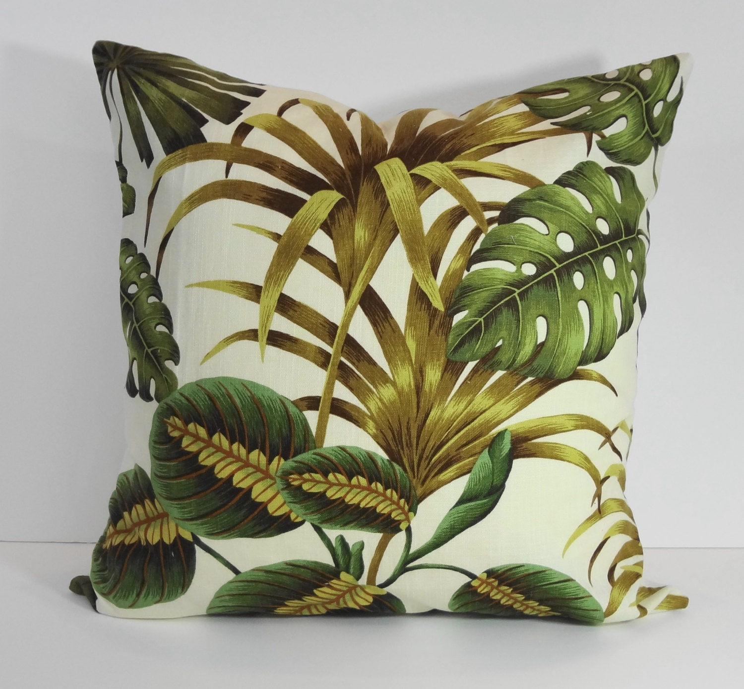 Decorative Pillows Tropical : Tropical Pillow Cover Cushion Throw Pillow Decorative Pillow