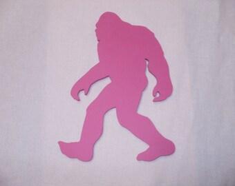 big foot chalk board pink  magnet fridge  Sasquatch black board fun gift