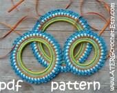 Crochet pattern 3 PICTURE FRAMES by ATERGcrochet