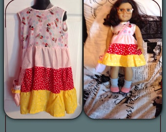Flower minnie mouse dress