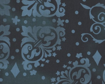 """EOB Clearance, 30"""" Fabric, Blue Fabric, Blue Floral Fabric, Floral Fabric, Garden Fabric, 05061"""