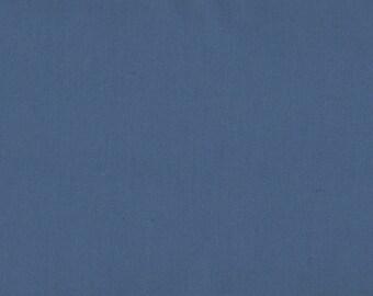 Solid Blue Fabric, Kona Cotton Solids by Robert Kaufman, Blue Fabric, Cadet, 03056