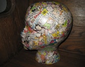 Mannequin Head  - Comics - Cartoons - Display Art Piece - Hat Display