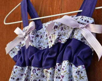 Girls dress size 3 toddler, summer dress, girl clothes, dresses, sundress, summer clothing in purple