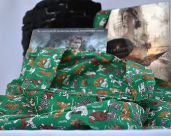 Cat lovers bag, summer beach bag, shoulder bag, book bag, market tote bag, cat purse, craft bag, book tote bag, accessory bag, womens gifts