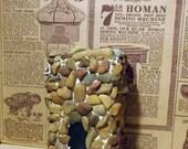 Miniature fireplace -dollhouse furniture