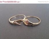 Together Forever - Fede Gimmel Ring Solid Gold