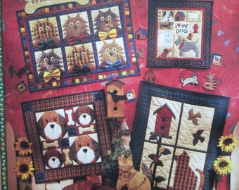 1996 Debbie Mumms  Bowers and Meowsers Quilt Book