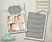Photography Price Sheet Template - Photography Price Sheet Damask Dots