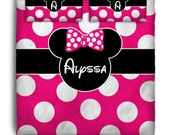 Mouse Inspired  Custom Personalized Bedding - Many Colors