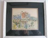 Raoul Dufy print, French artist 1877 - 1953