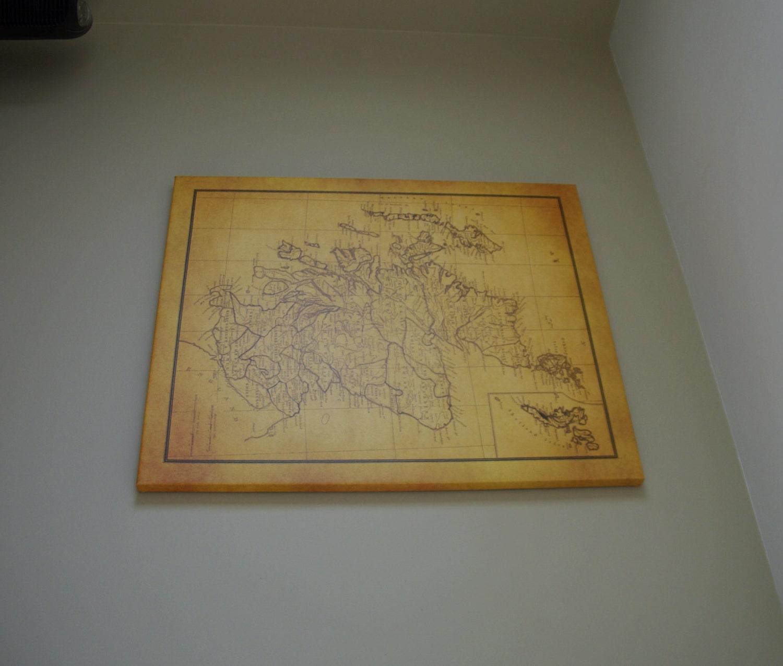 Free Art Print Egypt Map Outline Scotland Antique