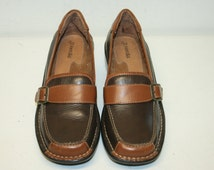 Free Ship,size 6.5 Penny Loafers,6.5 shoes,leather loafers,loafer women,6,5 loafers,penny loafer,slip ons,leather penny loafer,leather
