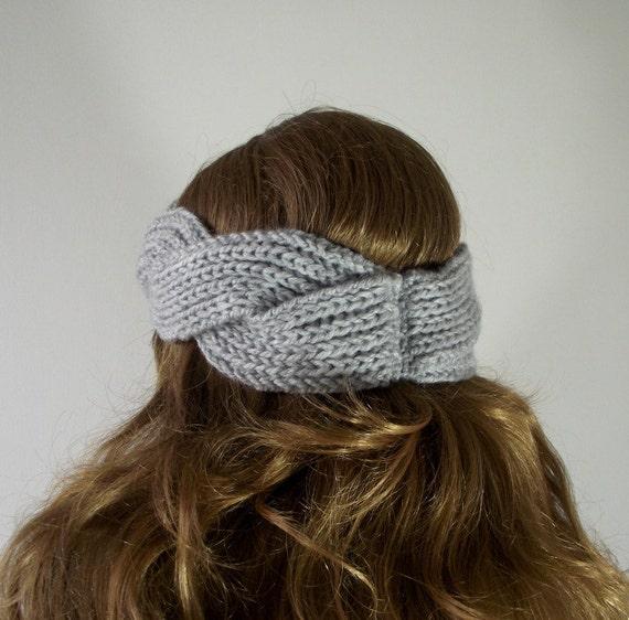 KNITTING Headband PATTERN Twisted - Regina Headband - Ear ...